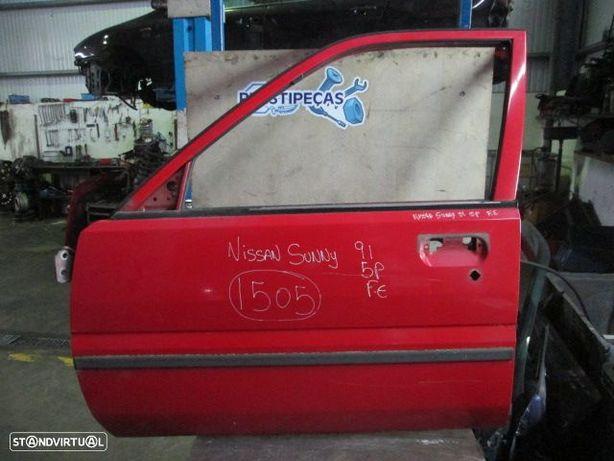 Porta POR1505 NISSAN / SUNNY / 1991 / VERMELHA / FE / 5P /