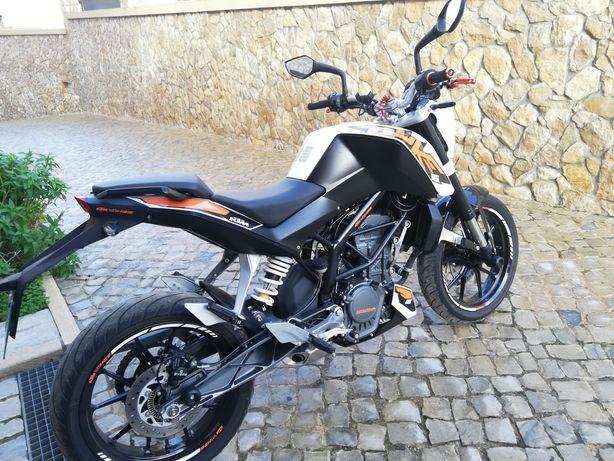 KTM DUKE 125 de 2016