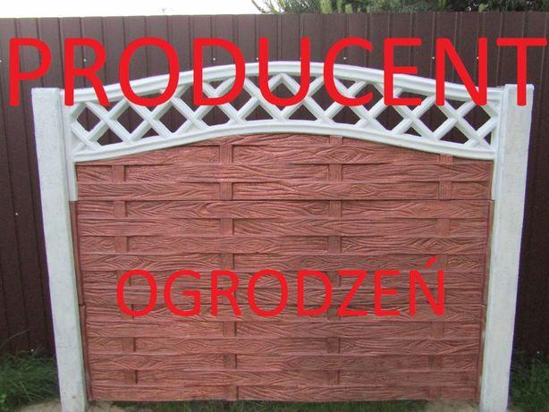 ogrodzenia,płoty betonowe producent montaż ogrodzeń