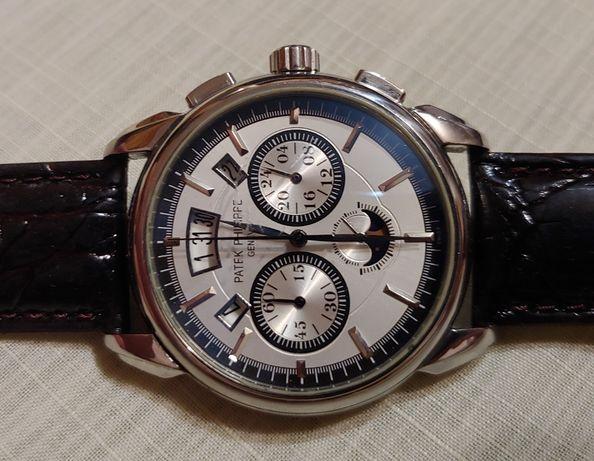"""Швейцарские часы """"Patek Philippe"""" хронограф Swiss и часы времён ссср."""
