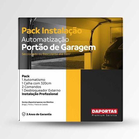 Pack de Instalação / Motor para Portão de Garagem