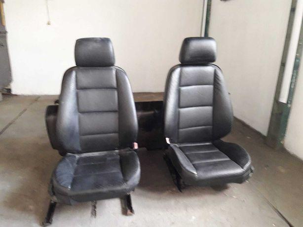 Komplet foteli skórzanych BMW E36