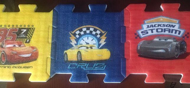 Puzzle piankowe Auta 3/mata