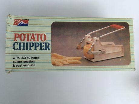 Cortante para batatas aos palitos