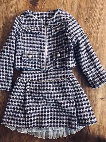Стильный костюм для девочки 3года