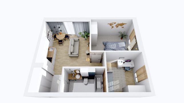 Mieszkanie 3 pokojowe z ogródkiem. Nowa inwestycja