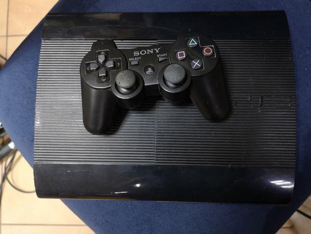Konsola PS3 super slim + pad bezprzewodowy