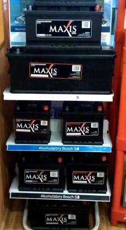 Nowy Akumulator MAXIS - VARTA 45ah 50ah 55ah 60ah 72ah 74ah 80ah 90ah