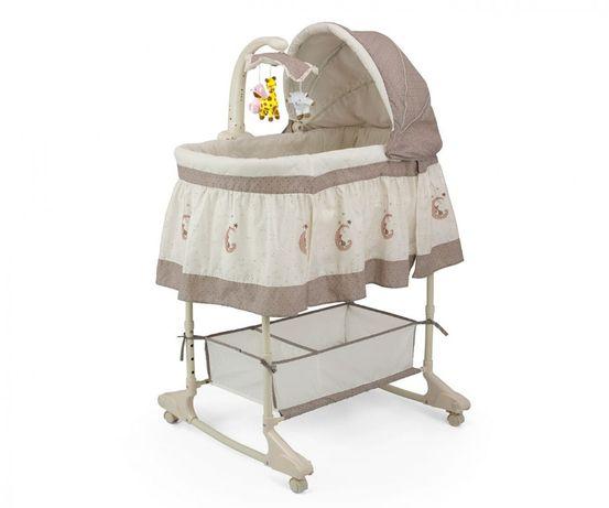 Milly Mally Kolyska łóżeczko dla dziecka Sweet Melody 4w1 Moon