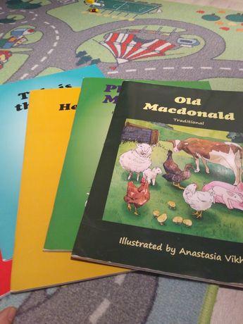 Książki do nauki angielskiego dla przedszkolaków