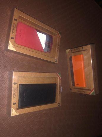 Vendo capas novas em pele genuína p/ iPhone 6/6S