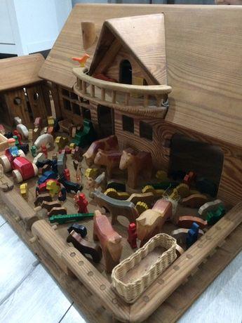 FARMA dla dzieci z drewna