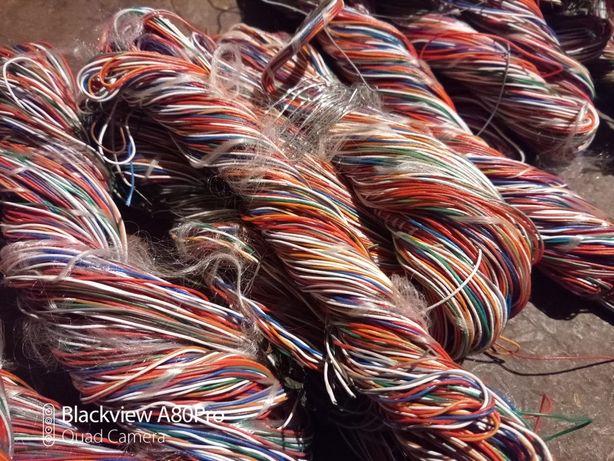 Разноцветная проводка (тонкие провода)