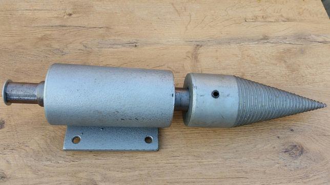 Świder łupak rębak łuparka fi 80mm do drewna z wałkiem. Ostrowiec Św.