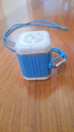 Coluna Bluetooth Silvercrest com Cordão