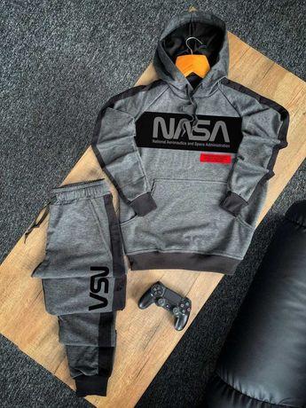 БЕЗ ПРЕДОПЛАТ! Спортивный мужской костюм Чоловічий NASA Худи + Штаны