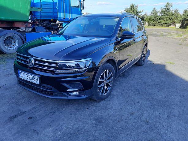Volkswagen Tiguan 2.0TDI Salon Polska serwis ASO 100% bezwypadkowy