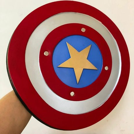 Мягкий щит Капитана Америки. щит Captain America 1:1.