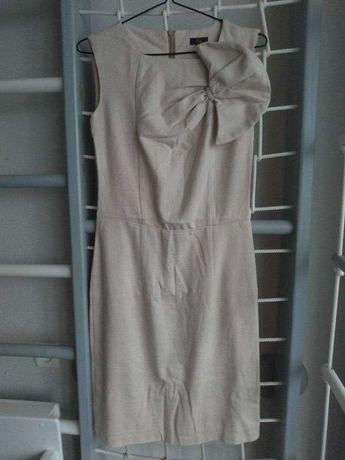 Платье бежевое 42 (S)