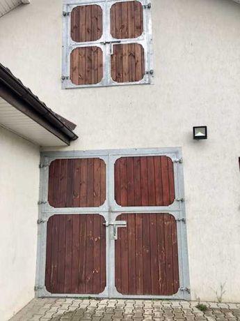 drzwi stajenne dwuskrzydłowe i jednoskrzydłowe