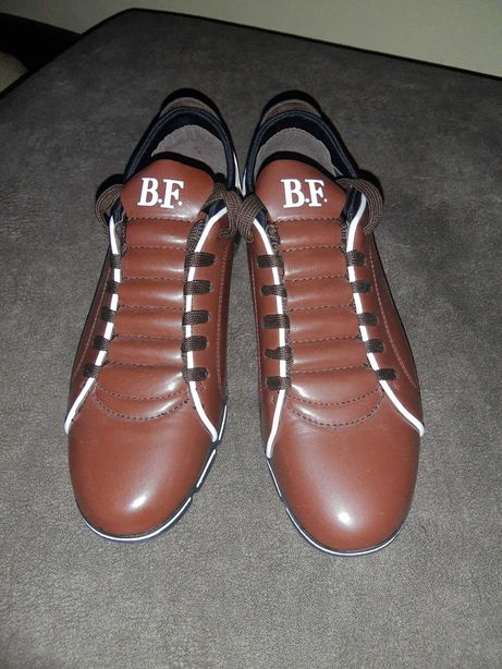 Buty męskie półbuty BF ze skóry, nowe rozm. 42 43