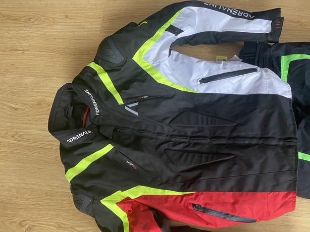 Kurtka spodnie motocyklowe ,garb, rozmiar 50 nowe