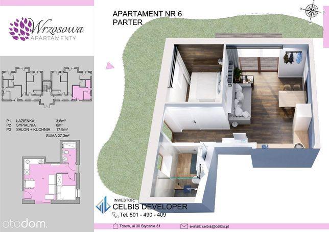 Wykończone Apartamenty Inwestycyjne - Lokal nr 6