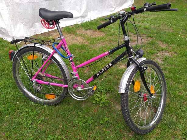Rower damski damka ALPINA 24 cale młodzieżowy