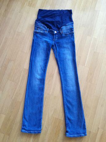 Spodnie, jeansy ciążowe h&m rozmiar 38