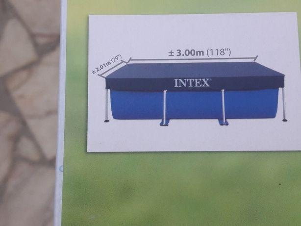 Cobertura piscina 300X200 cm Intex (32€+CTT Expresso)