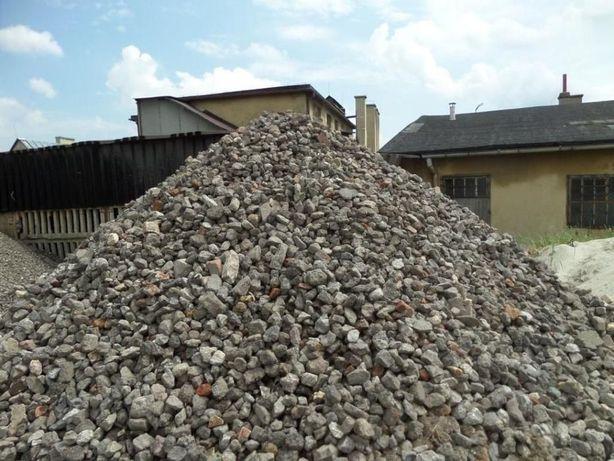 Kamień Kliniec Tłuczeń kruszywo do utwardzania PLACÓW DRÓG na wiosnę