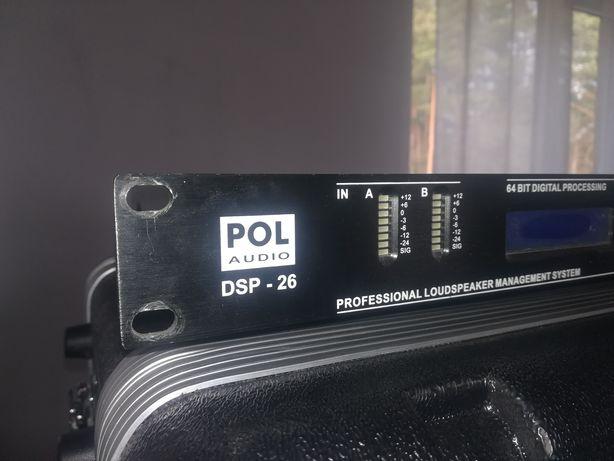 Procesor głośnikowy polaudio dsp 26