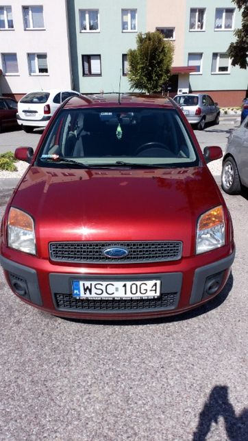 Ford Fusion 1.4 z małym przebiegiem