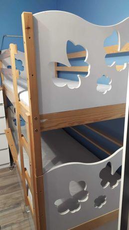 Łóżko piętrowe 180*80