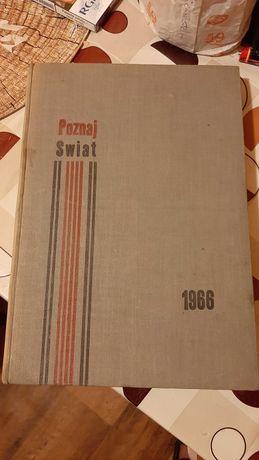 """Magazyn Geograficzny_Poznaj Świat""""roczniki_Styczeń 1966/Grudzien/1966,"""