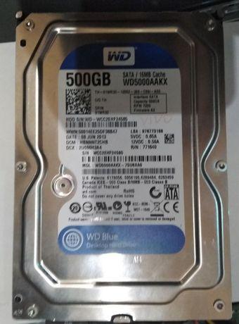 Как Новый SATA III Жескийдиск WD Blue hdd для PC 500Гбайт 7200rpm 16mb