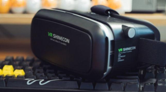 3D Шлем VR BOX Виртуальная реальность с Пультом