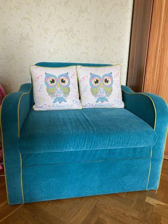 Детский диван кресло кровать Кузя