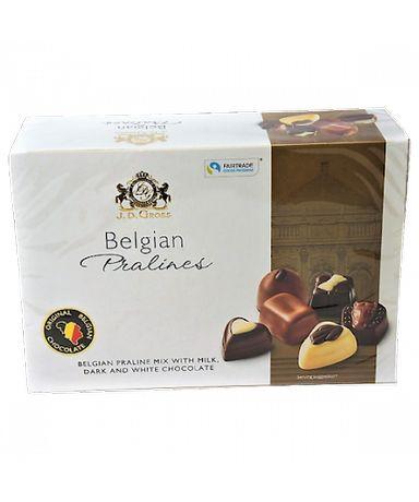 Конфеты J.D. GROSS Belgian Pralines Бельгийские пралине, 360 г
