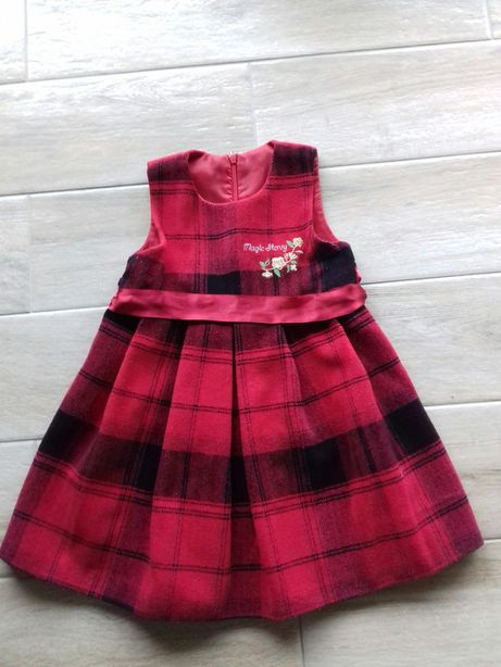 Sukienka rozmiar 86 cm