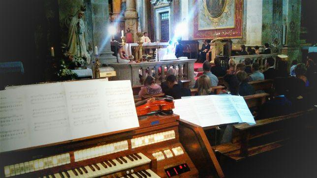 Coro Canto, Violino e Órgão na Cerimónia de Casamento e Eventos