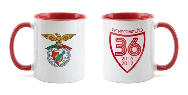Caneca Benfica (imagem em dois lados) Artigo Novo