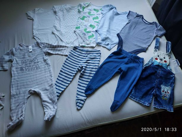 Вещи на малыша 12-18 месяцев