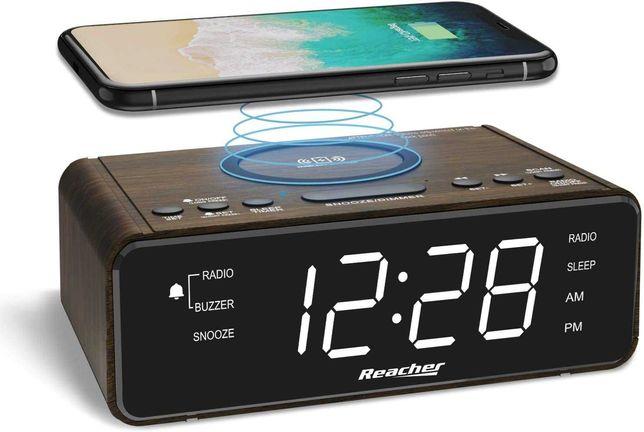 Relógio despertador digital