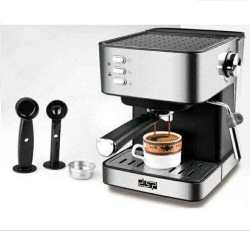 Кофемашина полуавтоматическая рожковая DSP KA3028 Кофеварка