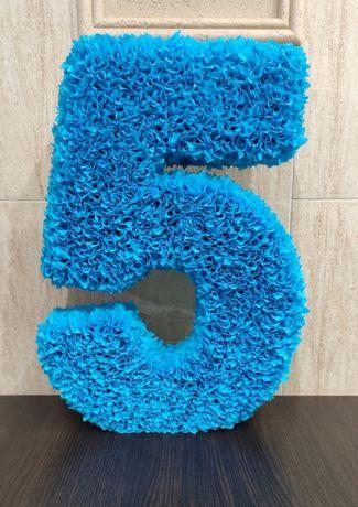 Цифра 5 на день рождение
