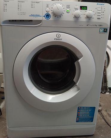 Entrega garantia máquina de roupa Indesit 7 kg A+++ como nova