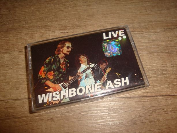 Wishbone Ash - Live (MC) kaseta