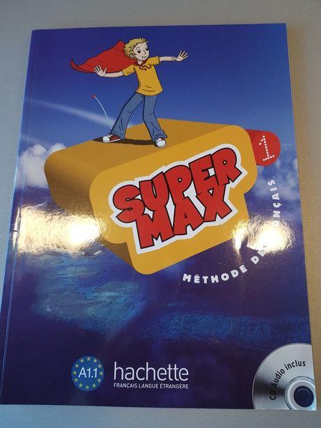 Super Max 1 podrecznik i CD j. Francuski