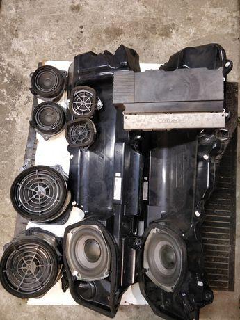 Nagłośnienie Bose głośniki wzmacniacz komplet Audi A6 C6 avant Allroad